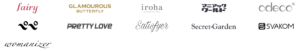 iroha等の有名ブランドを取り扱っている